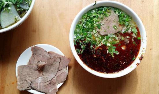 兰州牛肉面 视觉中国 资料图