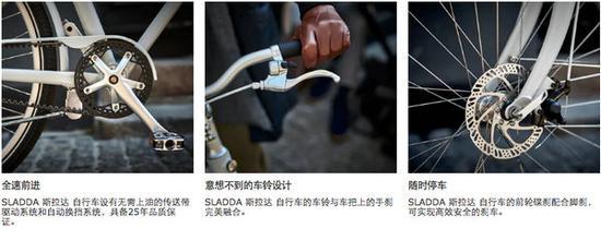 宜家斯拉达自行车官网介绍