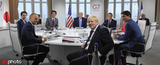 特朗普:等约翰逊当首相花了6年 我问他咋这么久
