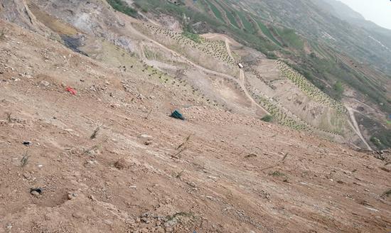 图3 三门峡市锦滨矿业有限公司矿区