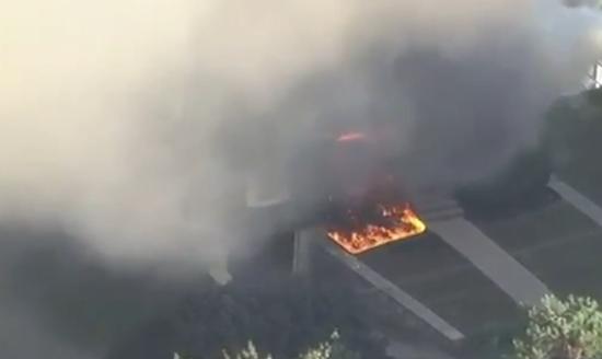 视频|美国马萨诸塞州39处建筑发生燃气爆炸 管道