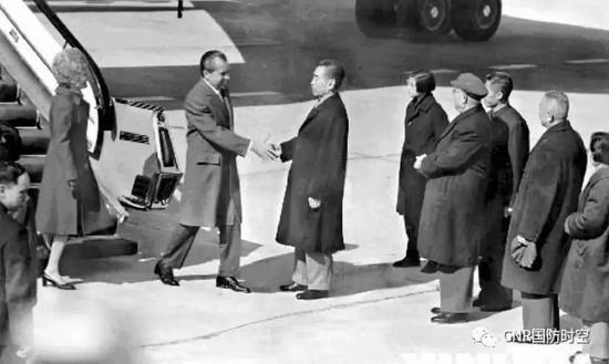 1972年2月21日至28日,美国总统尼克松正式访华。