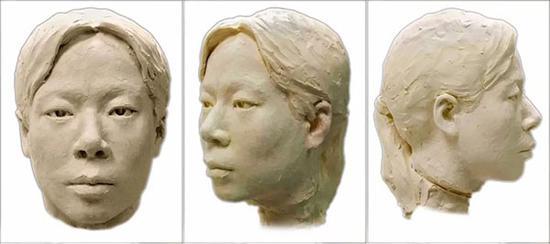 尸体头面像复原图片(仅供参考)