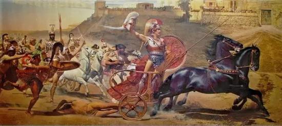 荷马史诗刻画了古希腊文明中的方方面面