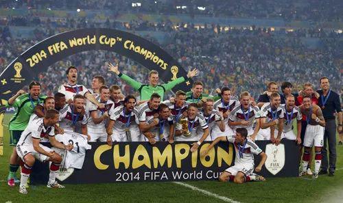▲资料图片:2014年巴西世界杯,德国夺冠。