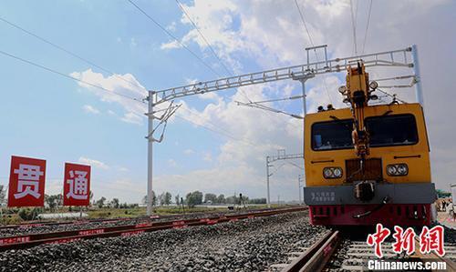 资料图 快速铁路服务于中俄贸易。 中新社记者 王舒 摄