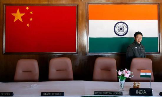 ▲印度在重新调整与中国的关系。(路透社)