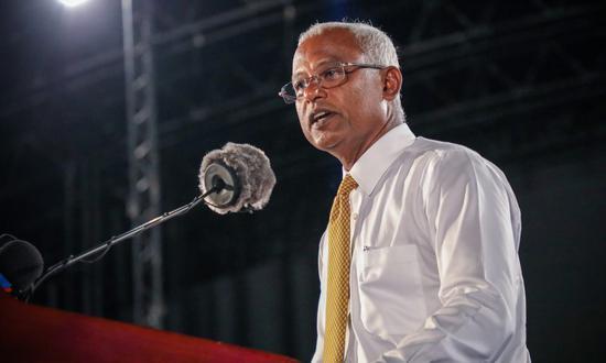 (萨利赫将成为马尔代夫下任总统。)