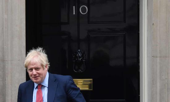 <strong>英国上议院通过脱欧法案 约翰逊</strong>