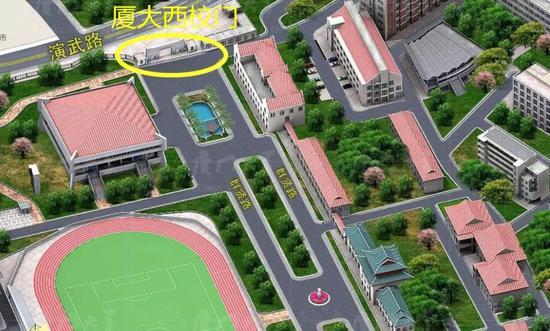 厦大地下停车场面向社会车辆开放|地下停车场