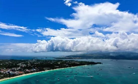 資料圖:長灘島(圖源:菲律賓世界日報)