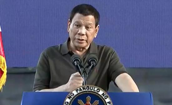 菲律宾总统杜特尔特(马尼拉公报)
