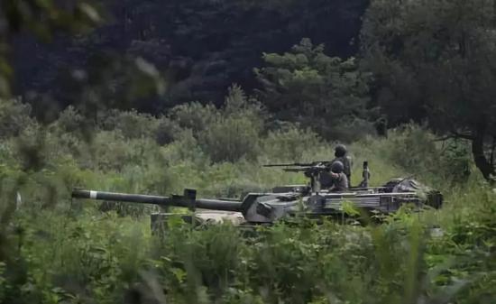 """▲""""乙支自由卫士""""美韩联合军演(资料图)"""