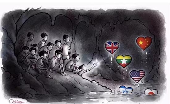 全部获救!泰国12名足球少年和教练终获安全!