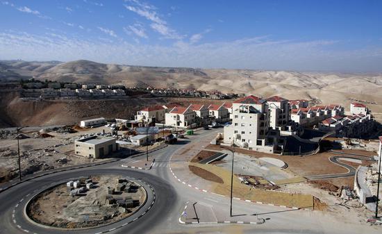 约旦河西岸一处犹太假寓面。(图源:法新社)