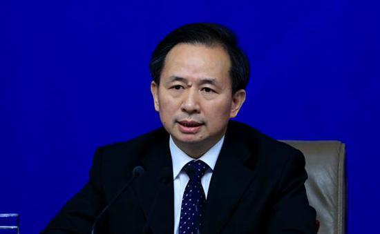 李干杰。 磅礴消息记者 赵昀 图