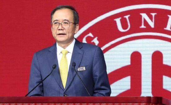 ▲北京大学校长林建华