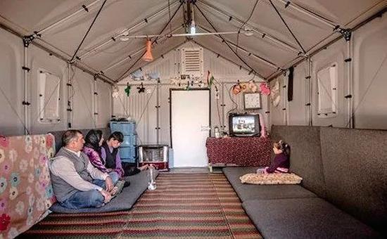 """宜家为难民建造的""""Better Shelter""""获得由英国设计博物馆评选出来的年度设计大奖。"""