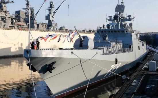 印度以30亿美圆的价钱购置4艘11356型保护舰