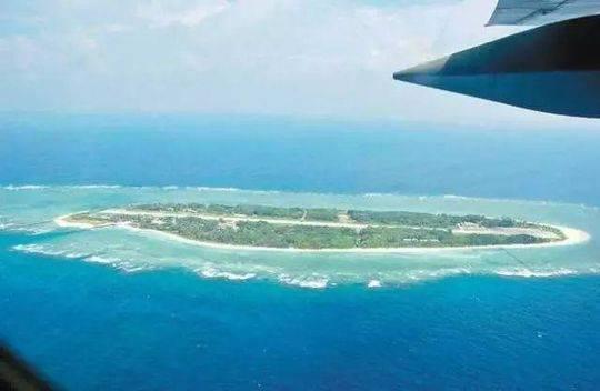 太平岛资料图 (图片来源:台湾联合新闻网)