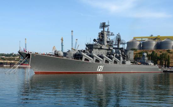 """""""莫斯科""""号导弹巡洋舰"""