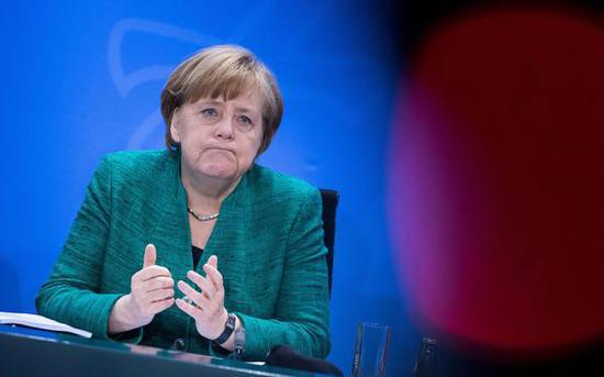 德国总理默克尔  视觉中国 图