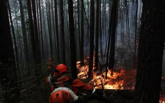 Image source Crisis management department Fire brigade Forest WeChat public number