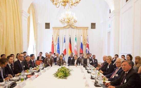 伊核協議簽署國在維也納召開會議。圖/視覺中國