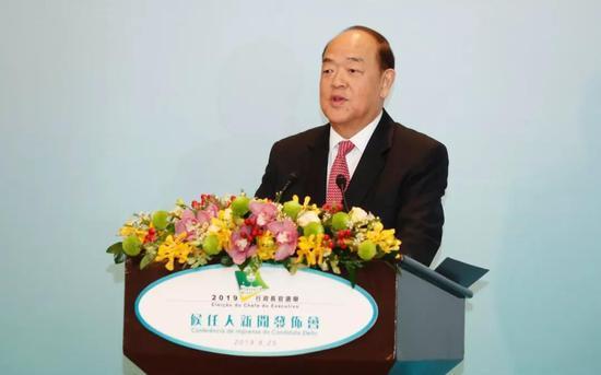澳门第五任特首候任人贺一诚将赴京接受中央任命