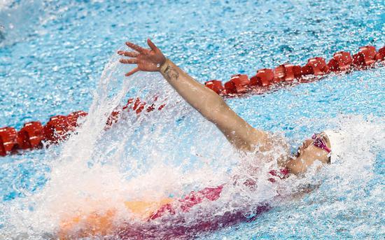 刘湘50自破亚洲纪录 中国泳军北京站9金收官图片
