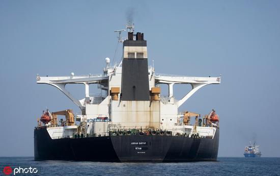 无视美国制裁 伊朗称获释油轮上的石油已出售