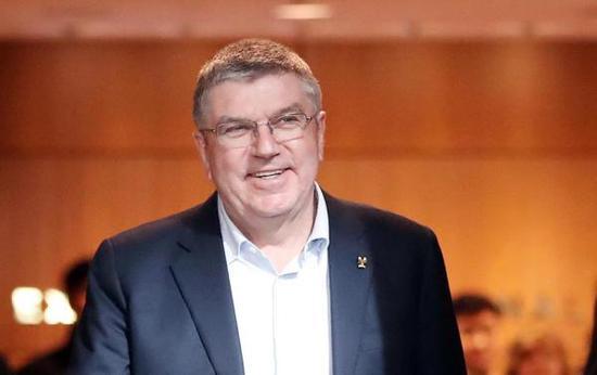 国际奥委会(IOC)主席巴赫 东方IC 资料图