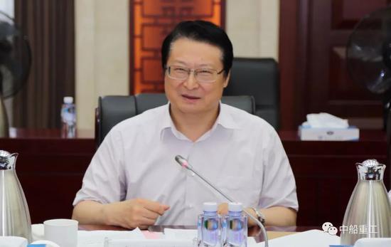 中船重工党组书记、董事长、重点工程总指挥胡问鸣