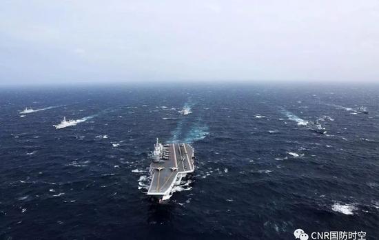 中国海军航母编队