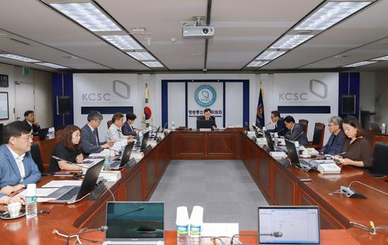 韩国放送通信委员会9日召开全体会议