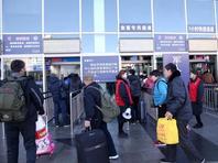 北京西站进入春运倒计时