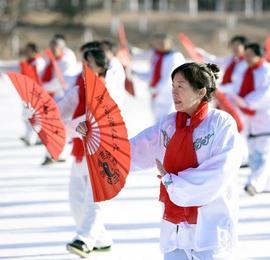 内蒙古举办冬季运动全民健身大会