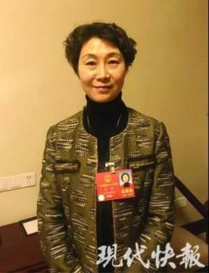 全国人大代表王芳。