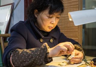 百年传承的指尖技艺 竹海盛开的艺术之花
