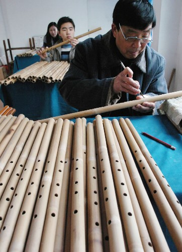 玉屏箫笛制作