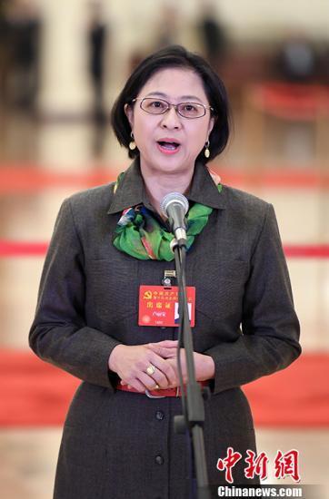资料图 卢丽安。中新社记者 毛建军 摄