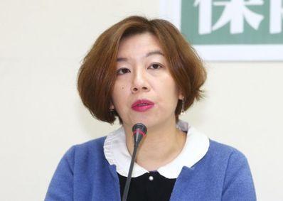 """林静仪。(图片来源:台湾""""联合新闻网"""")"""