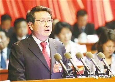 2017年6月9日,漯河市人民政府市长蒿慧杰在市七届人大一次会议上作《政府工作报告》
