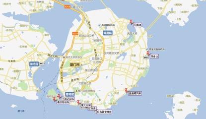 学员按照地图上订好的线路进行环岛拍摄。