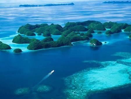 图为泰国普吉岛风光