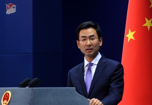 外交部:中方阻挡菲方同台湾发生官方往来(视频)