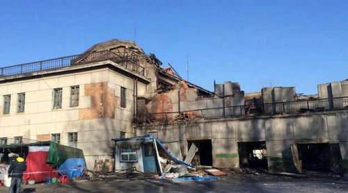 现场废墟图片提供:陈赫