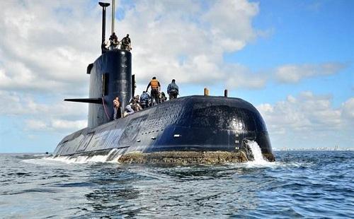 美方停止搜寻阿失联潜艇 难度堪比在球场找1根烟