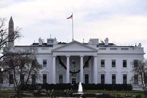 ▲美國白宮。 圖片來源:新華社