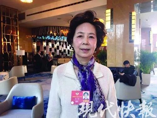 全国政协委员范小青。